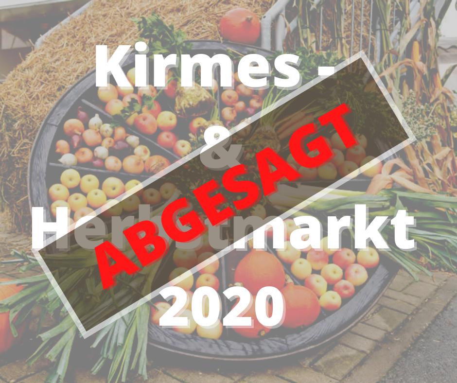 Absage Logo Kirmesmarkt